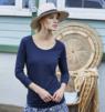T-Shirt elegante donna manica lunga
