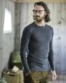 T-Shirt elegante uomo manica lunga