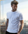 T-shirt uomo a manica corta elegante