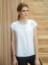 T-shirt elegante donna a maniche corte