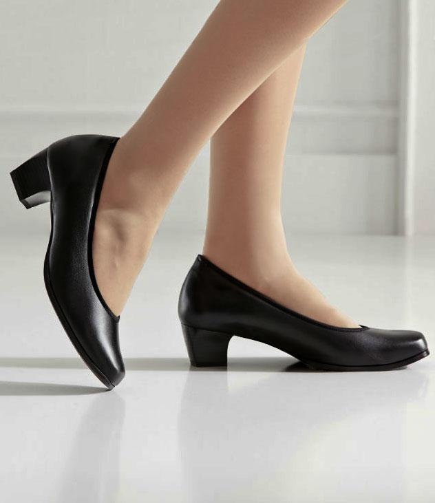 Shoes for event hostesses