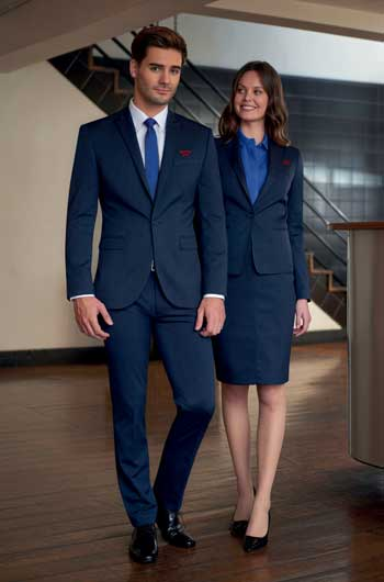 Uniforms for museums by Cast bolzonella: monocholor set